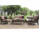 Berlin Gardens Classic Terrace Loveseat Lounge Set