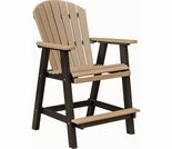 Berlin Gardens Comfo Back Extra Tall Bar Chair