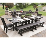 Berlin Gardens Large Mission Dining Set