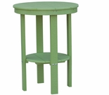 "Berlin Gardens Resin 22"" Round Bar Height End Table"