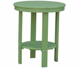 "Berlin Gardens Resin 22"" Round Counter Height End Table"