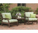 Berlin Gardens Resin Classic Terrace Club Chair Patio Set
