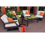 Berlin Gardens Resin Classic Terrace Swivel Rocker Patio Set