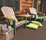 Berlin Gardens Resin Comfo-Back Adirondack Set