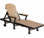 Berlin Gardens Resin Comfo-Back Chaise Lounge