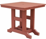 "Berlin Gardens Resin Garden Classic 28"" Square Dining Table"