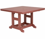 "Berlin Gardens Resin Garden Classic 44"" Square Bar Height Table"