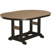 "Berlin Gardens Resin Garden Classic 44"" x 64"" Oblong Bar Height Table"