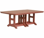 "Berlin Gardens Resin Garden Classic 44"" x 72"" Rectangular Bar Height Table"