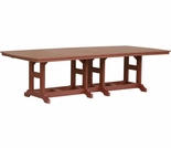 "Berlin Gardens Resin Garden Classic 44"" x 96"" Rectangular Bar Height Table"