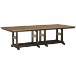 "Berlin Gardens Resin Garden Classic 44"" x 96"" Rectangular Counter Height Table"