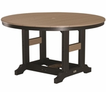 "Berlin Gardens Resin Garden Classic 48"" Round Counter Height Table"