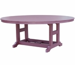 "Berlin Gardens Resin Garden Classic 60"" Round Counter Height Table"