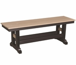 Berlin Gardens Resin Garden Classic Dining Bench - 4 Sizes