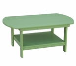 Berlin Gardens Resin Oblong Coffee Table