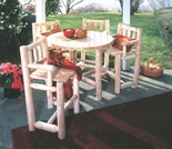 "Bistro 42"" Table and Stool Set"