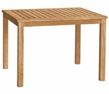 "Brunswick Teak 36"" Square Dining Table"