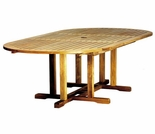 "Camden Teak 72"" - 96"" Oval Extension Table"