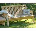 Cedar Countryside Garden Bench