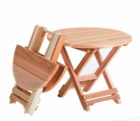 Cedar Folding Andy Table Optional Kit