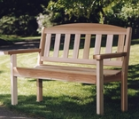 Cedar Garden Bench Optional Kit