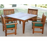 Cedar Get-Together Dining Set