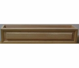 Cedar Inset Frame Window Box Planter - 3 Sizes