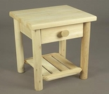 Cedar Night Table w/ Drawer