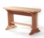 Cedar Patio Bench Kit