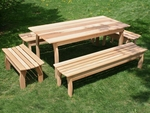 Cedar Patio Dining Sets