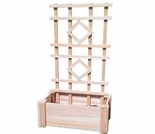 Cedar Planter Trellis - Exclusive Item