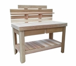 Cedar Potting Table - Exclusive Item