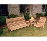 Cedar Twin Ponds Bench & Chair Collection