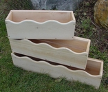 Cedar Window Box Planter: 3 Sizes