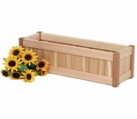 Cedar Windowbox Optional Kit