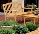 Oxford Garden Chadwick 4' Shorea Bench