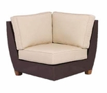 Three Birds Ciera Wicker Corner Chair