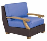 Three Birds Ciera Wicker Deep Seating Armchair