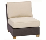 Three Birds Ciera Wicker Sectional Deep Seating Armless Chair
