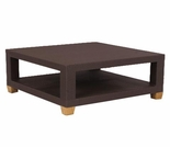 Three Birds Ciera Wicker Square Coffee Table