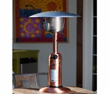 Copper Finish Table Top Patio Heater