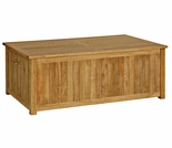 "Three Birds Cushion Teak 54.5"" Storage Box"