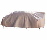"Duck Covers Elite 54""W Patio Loveseat Cover with Inflatable Airbag"