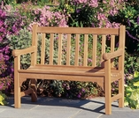 Oxford Garden Essex 4' Shorea Bench