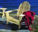 Folding White Cedar Adirondack Chair