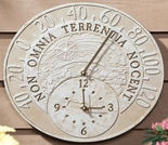 Fossil Celestial Thermometer Clock