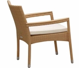 Helena Wicker Stacking Chair - 3 Color Options