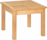 "Hi Teak 19.5"" Beach and Pool Side Table"