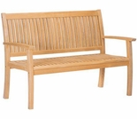 "Hi Teak 60"" Buckingham Bench"
