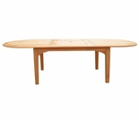 """Hi Teak 71"""" Oval Extension Table - Currently Out of Stock"""